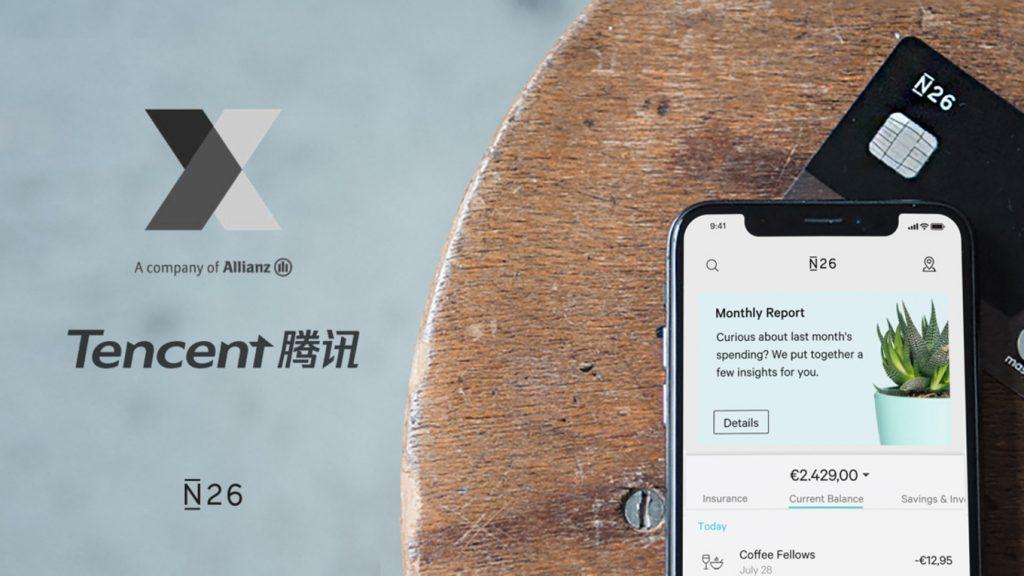 Allianz e Tencent investono su N26