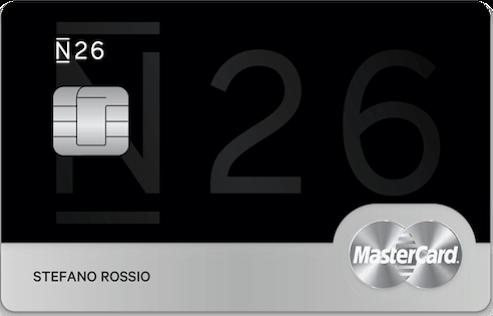 conto corrente n26-black