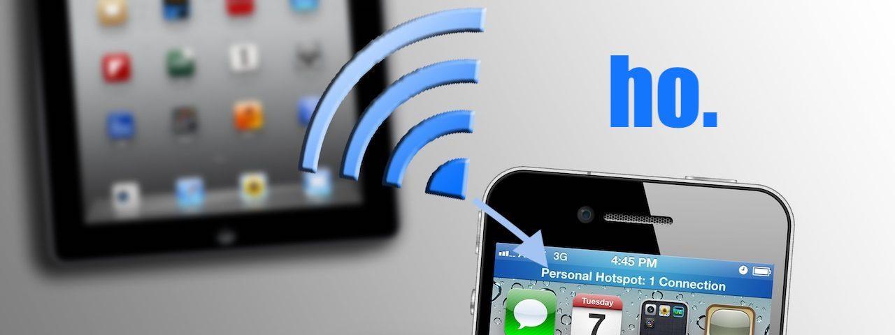 ho. come configurare Hotspot personale su-iOS