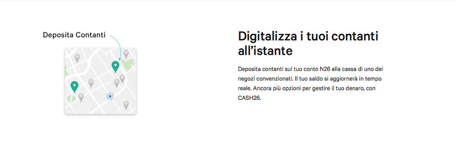 cash26 è disponibile anche in Italia