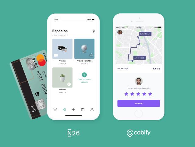 Cabify y N26 ofrecen crédito de 40 euros en viaje