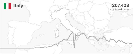 Coronavirus nel mondo - Italia