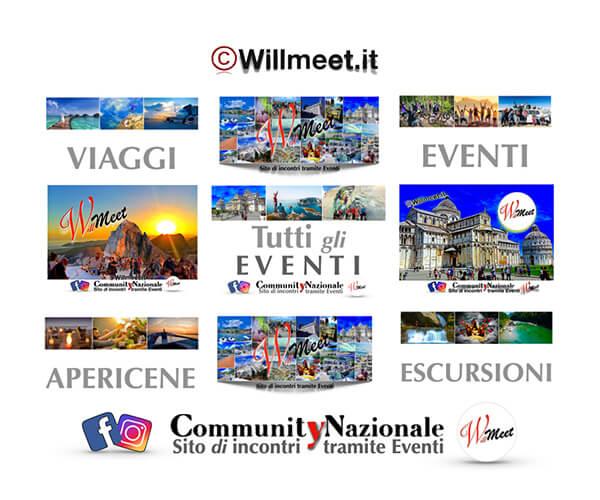 Willmeet eventi incontri viaggi