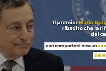 Catasto Draghi tensioni sulla riforma
