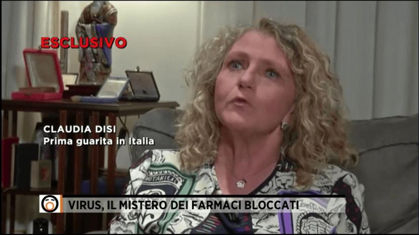 Claudia Disi, la prima guarita da COVID19, in Italia