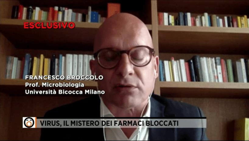 Francesco Broccolo Professore di Microbiologia all'università Bicocca di Milano