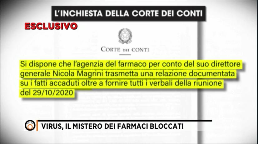 Inchiesta Corte dei Conti, AIFA - Magrini.